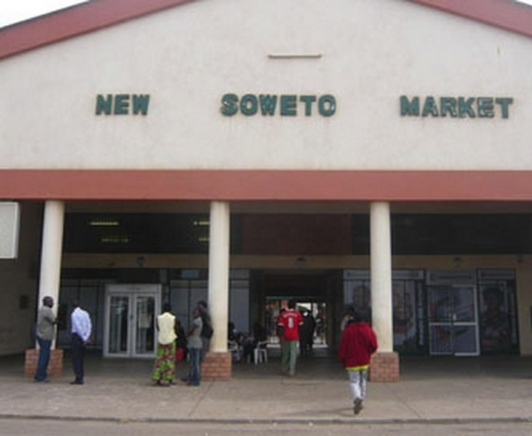 The new Soweto market in Zambia's capital city Lusaka struggles to attract buyers or sellers.