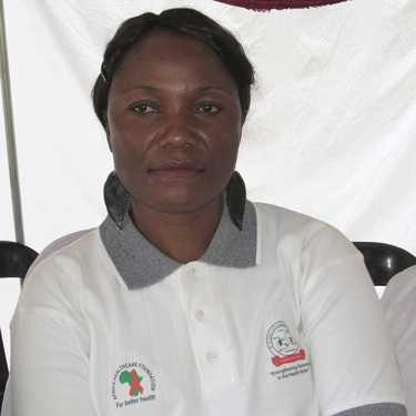 ZAMBIA Civil Society Health Partnership (ZCSHP) director Christine Kapampa - Pix - tiozambia