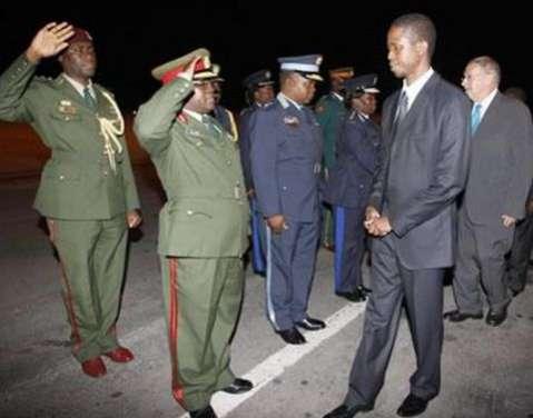 Defence Minister, Edgar Lungu