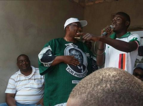 Geoffrey Bwalya Mwamba - GBM in Kasama August 2014