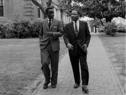 In 1960 Dr. Kenneth Kaunda visited places such as Washington, DC and Atlanta with Dr. Martin Luther King