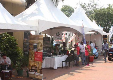 2014 Sanganai/Hlanganani World Travel and Tourism Africa Fair in Harare yesterday