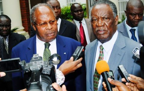 A Friend Indeed:Sata, Muluzi Addressing