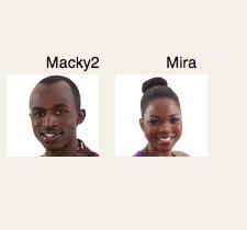 Big Brother Africa Hotshots housemates