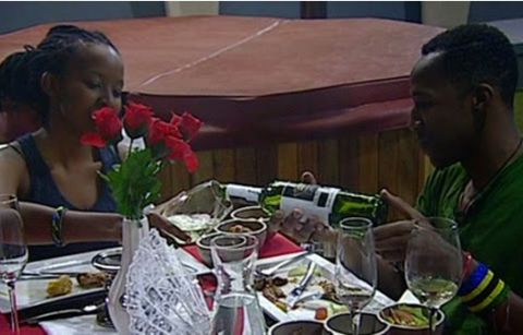 Big Brother Hotshots : Idris and Goitse's Romantic Dinner Date