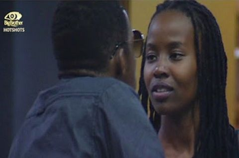 Big Brother - Idris and Goitse Face-Off