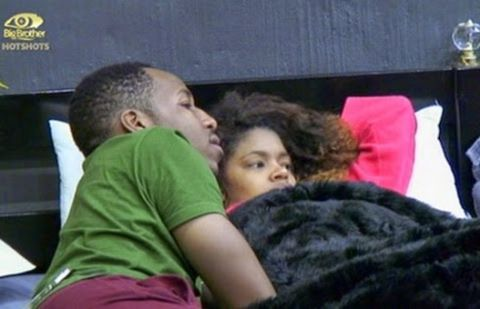 Big Brother hotshots - Samantha & Idris Bond