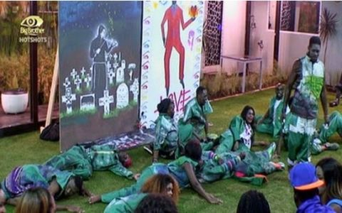 Big Brother hotshots : Second Victory For Housemates