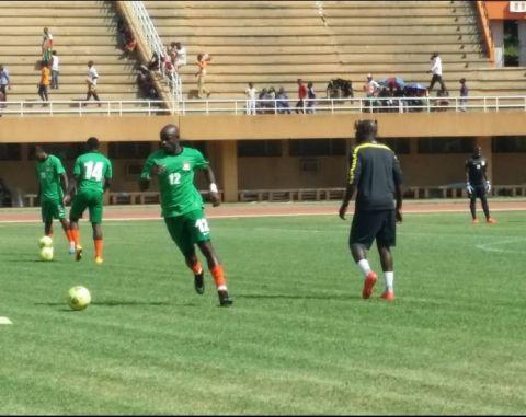 Chipolopolo Zambia vs Niger warmup