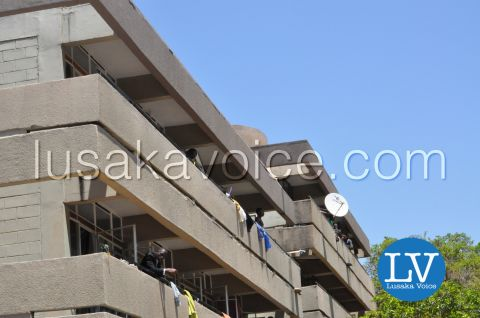 UNZA mourns sata Oct 29th 2014 in Pictures - by Lusakavoice.com