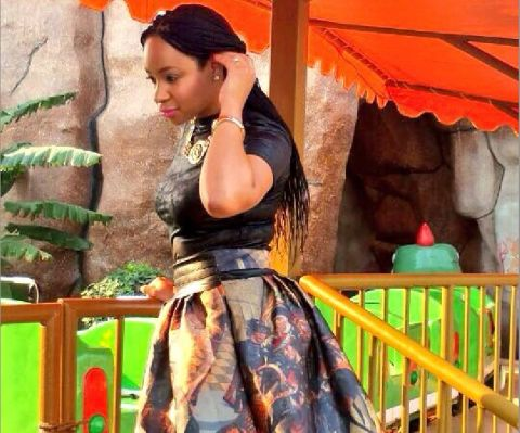 """Former big brother housemate and """"ADDICTED TO SHOES """" boss Pokello Nare"""