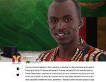 Hip hop musician Macky2 is from Luanshya in Zambia.