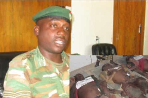 Mailoni brothers' killer, CORPORAL Joy Shapela, a Zambia Army soldier of Chindwin Barracks in Kabwe