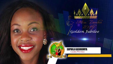 Miss Zambia MEET CONTESTANT #11 SOPHILA KASUKUMYA > LUSAKA PROVINCE