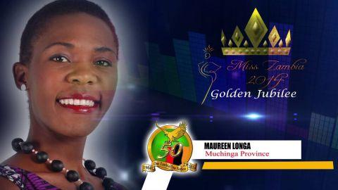 Miss Zambia MEET CONTESTANT #12 MAUREEN LONGA > MUCHINGA PROVINCE