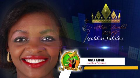 Miss Zambia MEET CONTESTANT #9 GIVEN KABWE > NORTHERN PROVINCE