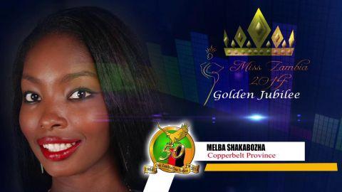 Miss Zambia MEET MELBA SHAKABOZHA - COPPERBELT PROVINCE
