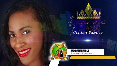 Miss Zambia MEET WENDY MANYANGA - SOUTHERN PROVINCE
