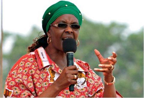 Mugabe's wife threatens Zimbabwe's vice-president