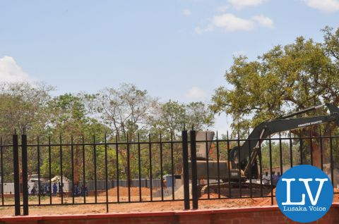 Preperations for President Michael Sata's Burial ground Oct 30-2014- by Lusakavoice.com