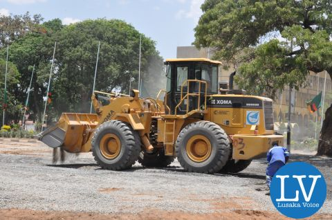 Preperations for President Michael Sata's Burial in Pictures