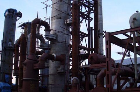 Processing facility at Glencore's Sable Zinc Kabwe mine