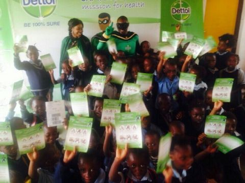 The Dettol Zambia Team