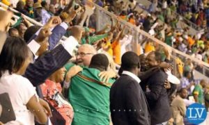 Chipolopolo hit Blue Sharks in Pictures by EDDIE MWANALEZA-10