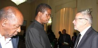 Dr Guy Scott, Mr Edgar Lungu