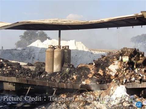 Fire in Kasumbalesa  – the aftermath in pictures…