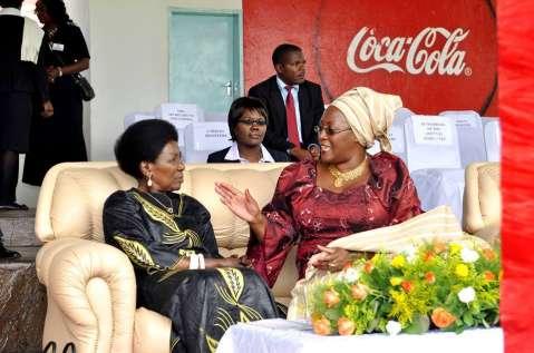 Former First Lady, Dr. Christine Kaseba-Sata