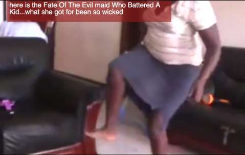 House Maid Beat Young Child To Near Death In Uganda (video)