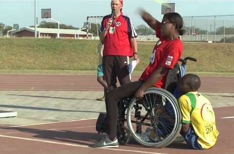 In October 2011 the International Paralympic Committee (IPC) organized a Regional Training Camp in ZambiaIn October 2011 the International Paralympic Committee (IPC) organized a Regional Training Camp in Zambia