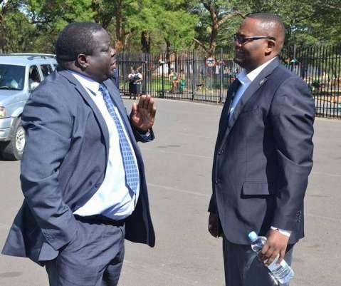 Kambwili Confronts Emmanuel Mwamba