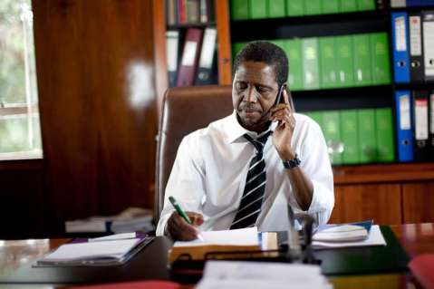 justice Minister Edgar Lungu
