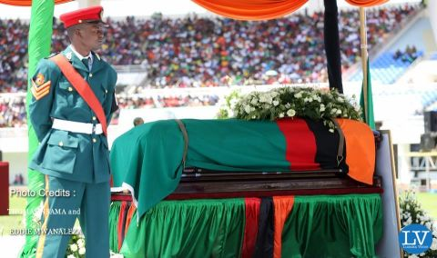 PRESIDENT SATA PUT TO REST IN PICTURES BY EDDIE AND THOMAS