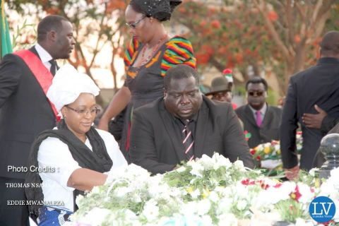 PRESIDENT SATA PUT TO REST IN PICTURES BY EDDIE AND THOMAS  -- Kambwili