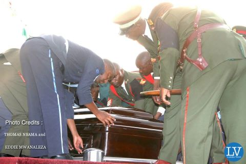 PRESIDENT SATA PUT TO REST IN PICTURES BY EDDIE AND THOMAS.,.