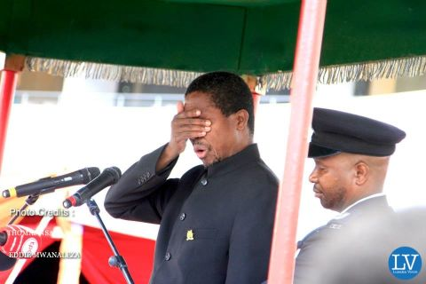 Edgar Lungu -- PRESIDENT SATA PUT TO REST IN PICTURES BY EDDIE AND THOMAS