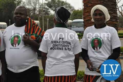 President Sata Body viewing procession, Nov 7th 2014 by Lusakavoice.com-21