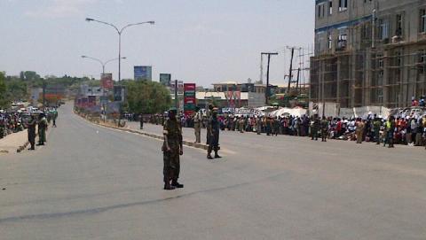 Michael Sata's body returns to Zambia