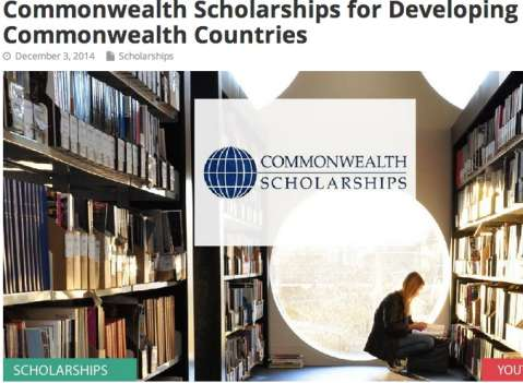 UK based Commonwealth Scholarships