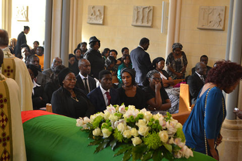 Funeral held for Sata in UK