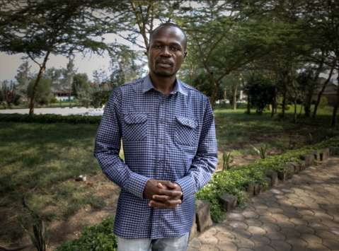 Zimbabwean health journalist Cassim John