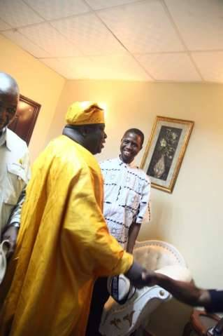 Arrival of Hon. Kambwili