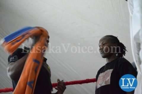 Zambian Boxer Esther Phiri vs Evelyn Odoro Kenyan Boxer