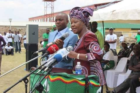 Edith Nawakwi launches FDD 2015 Presidential campaign