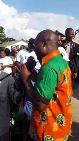 Father Frank Bwalya and Mike Mulongoti