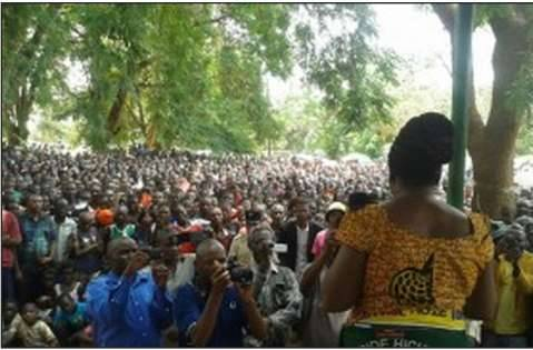 HH, Dr Maureen Mwanawasa and Dr Chituwo campaign in Central Province