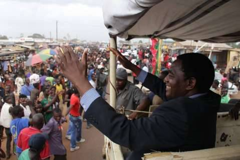 Hakainde Hichilema Dec 7th 2014 - Thank you all for joining me on our Zambia United Tour. I look forward to moving Zambia forward on this new journey,,,,.
